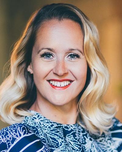 Keynotepuhuja Camilla Tuominen
